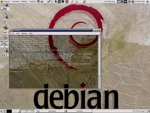 Deux Tunisiens pour Debian