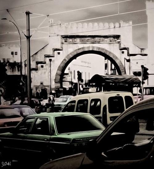 Tunisie : «Tunice», photomontage en décalage